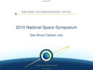 2010 National Space Symposium