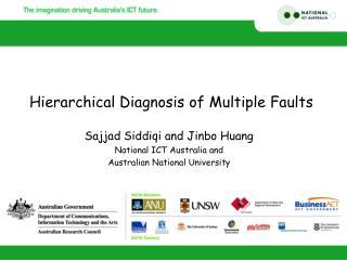 Sajjad Siddiqi and Jinbo Huang National ICT Australia and Australian National University