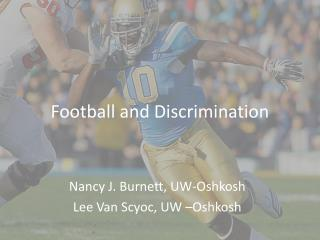 Football and Discrimination