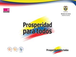 Cuenta Satélite de Cultura COLOMBIA Comunidad Andina, CAN 23 de septiembre 2011