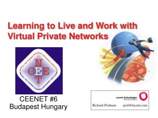 Learning to Live and Work with  Virtual Private Networks