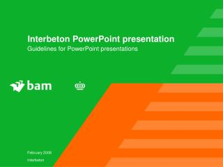 Interbeton PowerPoint presentation