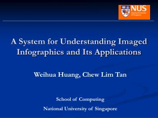 A System for Understanding Imaged Infographics and Its Applications