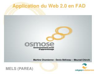 Application du Web 2.0 en FAD