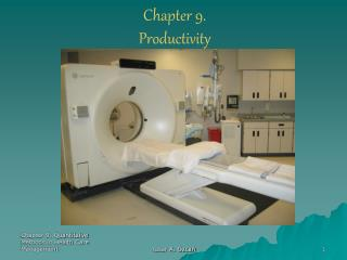 Chapter 9. Productivity