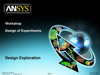 Workshop Design of Experiments