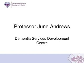 Professor June Andrews