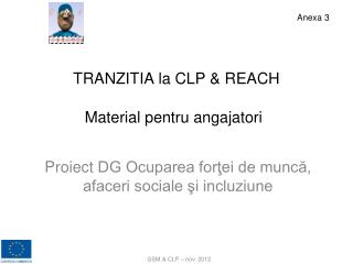 TRANZITIA la CLP & REACH