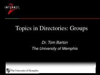 Topics in Directories: Groups