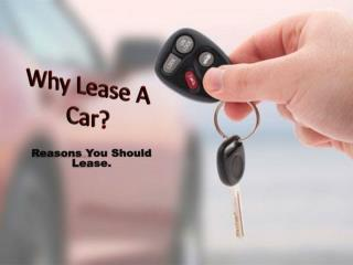 Why Car Lease
