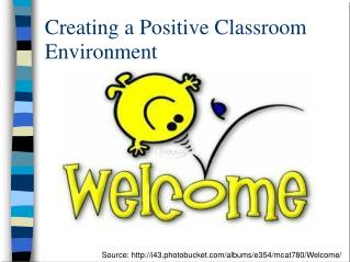 Creating a Positive Classroom Environment