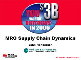 MRO Supply Chain Dynamics