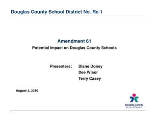 Douglas County School District No. Re-1