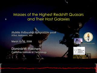 Masses of the Highest Redshift Quasars  and Their Host Galaxies