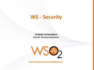 WS - Security