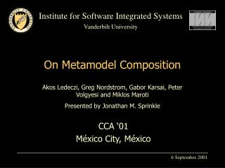 On Metamodel Composition
