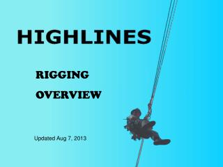 RIGGING  OVERVIEW