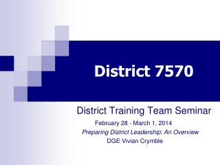 District 7570