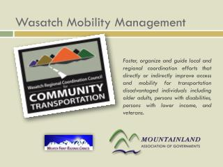 Wasatch Mobility Management