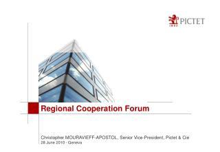 Regional Cooperation Forum