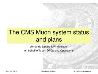 The CMS Muon system status and plans