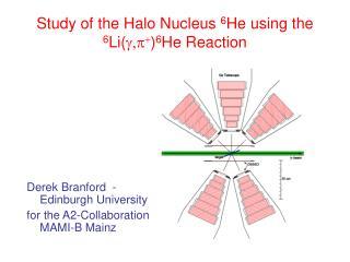 Study of the Halo Nucleus 6 He using the 6 Li( g,p + ) 6 He Reaction