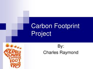 Carbon Footprint Project
