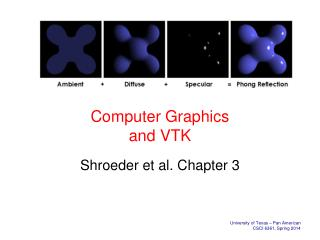 Computer Graphics and VTK
