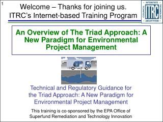 An Overview of The Triad Approach: A New Paradigm for Environmental Project Management