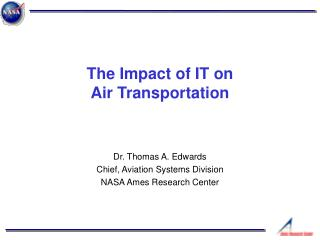 The Impact of IT on Air Transportation