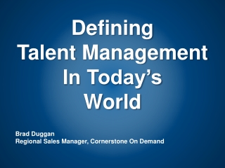 The Role of Compensation in Talent Management