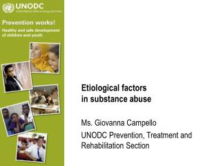 Etiological factors in substance abuse