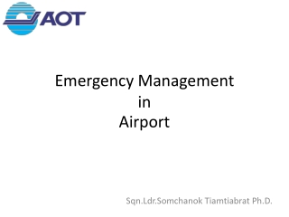 AIRPORT EMERGENCY PLAN