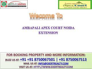 Amrapali Apex Court @@ 91 8750067501 #@ Amrapali New Projec