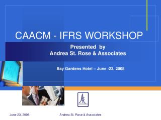 CAACM - IFRS WORKSHOP