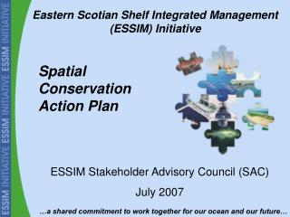 Spatial Conservation Action Plan