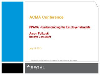 ACMA Conference