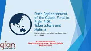 HIV, TB and Malaria  WHO s South East Asia Region