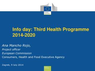 Info day: Third Health Programme 2014-2020