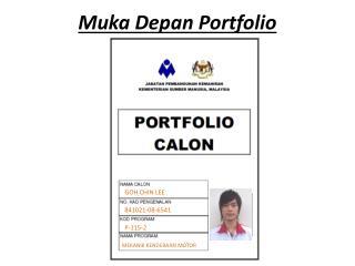 Muka Depan Portfolio