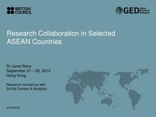 Research Collaboration in Selected ASEAN Countries