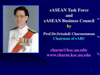 eASEAN Task Force and eASEAN Business Council by