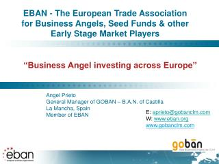 """Business Angel investing across Europe"""