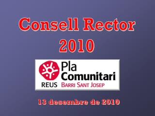 Consell Rector 2010