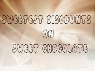 Find 15% Discounts on All Chocolates