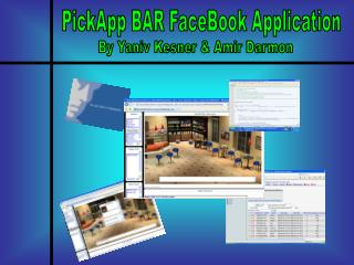 PickApp BAR FaceBook Application