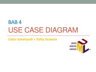 Bab 4 Use case diagram