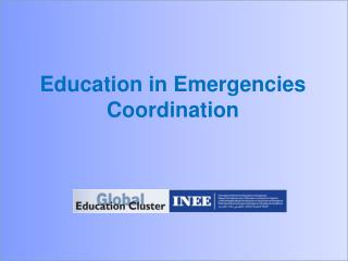 Education in Emergencies Coordination