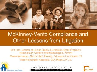 McKinney-Vento Compliance and Other Lessons from Litigation