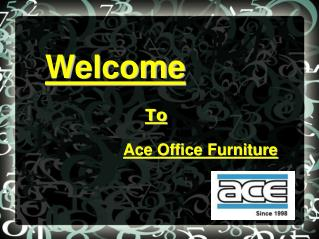 Buy Branded Furniture For Office